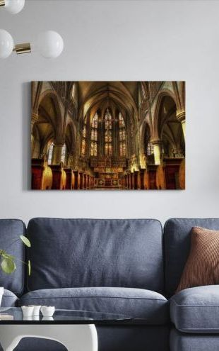 【Canvas Print】PHOTOWALL / Cathedral (e310785)