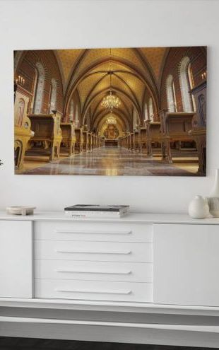 【Canvas Print】PHOTOWALL / Catholic Church (e310788)