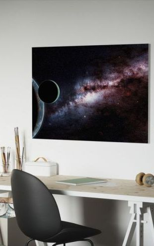 【Canvas Print】PHOTOWALL / Darkness in the Galaxy (e310826)