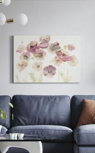 【Canvas Print】PHOTOWALL / Delicate Poppies (e311171)