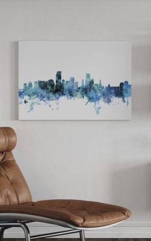 【Canvas Print】PHOTOWALL / Miami Florida Skyline (e311679)