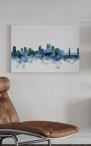 【Canvas Print】PHOTOWALL / Sacramento California Skyline (e311681)