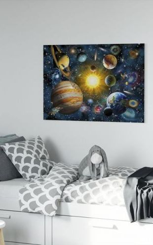 【Canvas Print】PHOTOWALL / OurSolarSystem (e312196)