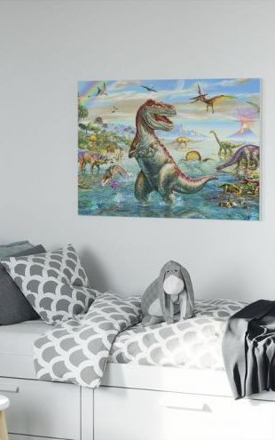 【Canvas Print】PHOTOWALL / Prehistoric Panorama (e312311)