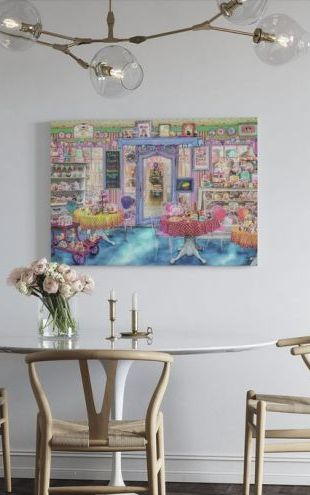【Canvas Print】PHOTOWALL / Vintage Cake Shop (e312350)