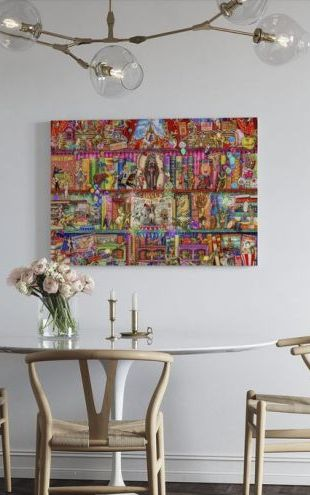 【Canvas Print】PHOTOWALL / Circus Extravaganza (e312357)