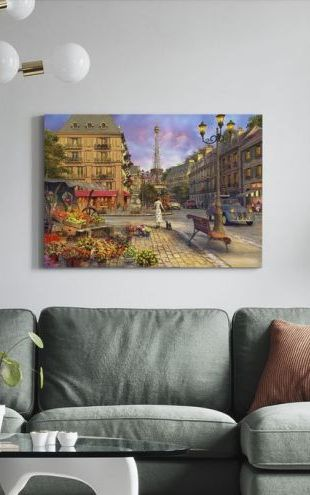 【Canvas Print】PHOTOWALL / Paris Life (e312498)