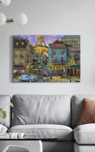 【Canvas Print】PHOTOWALL / Paris Streets (e312504)