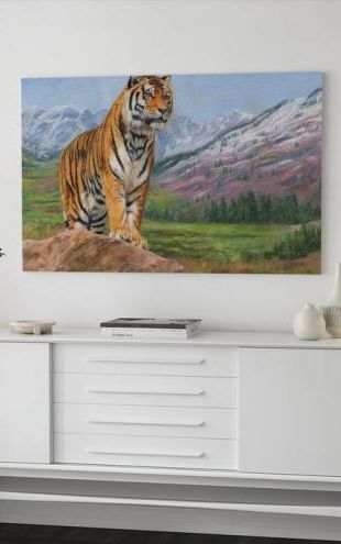 【Canvas Print】PHOTOWALL / Queen of Siberia (e312453)