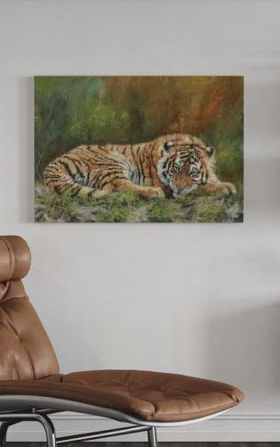 【Canvas Print】PHOTOWALL / Amur Tiger (e312462)
