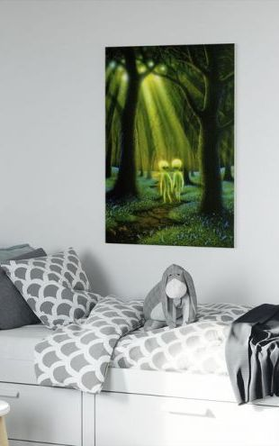 【Canvas Print】PHOTOWALL / Alien Woods (e312634)