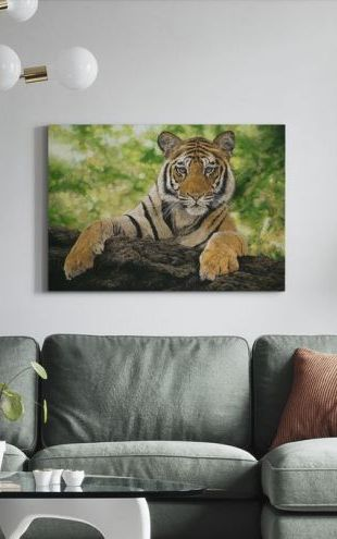 【Canvas Print】PHOTOWALL / Curious Cub (e312642)