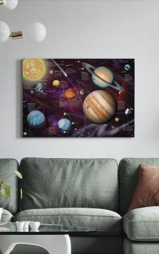 【Canvas Print】PHOTOWALL / Solar System (e312655)