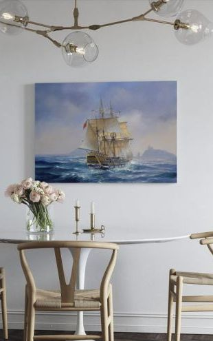 【Canvas Print】PHOTOWALL / Barque Marquesa (e312659)