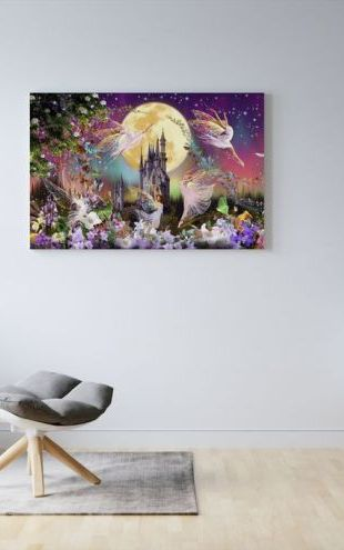 【Canvas Print】PHOTOWALL / Fairy Triptych (e312678)
