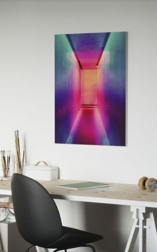 【Canvas Print】PHOTOWALL / Bright Neon Lights (e313436)