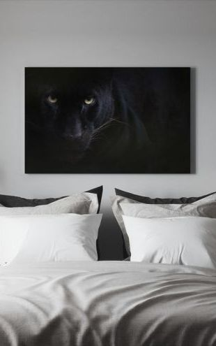 【Canvas Print】PHOTOWALL / Black Panther (e314535)