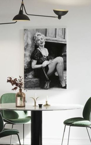 【Canvas Print】PHOTOWALL / Marilyn Monroe in Bus Stop (e314743)