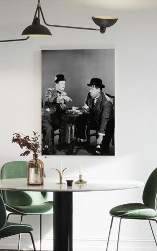 【Canvas Print】PHOTOWALL / Oliver Hardy and Stan Laurel (e314757)