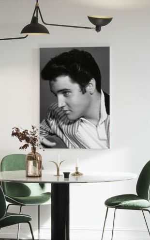 【Canvas Print】PHOTOWALL / Elvis Presley (e314766)