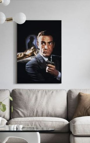 【Canvas Print】PHOTOWALL / Sean Connery in 007 Goldfinger (e314853)