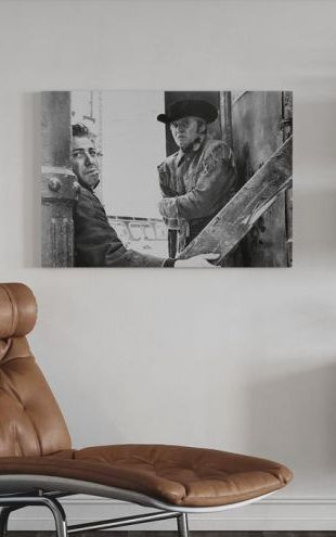 【Canvas Print】PHOTOWALL / Dustin Hoffman and Jon Voight in Midnight Cowboy (e314880)