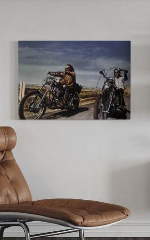 【Canvas Print】PHOTOWALL / Dennis Hopper and Peter Fonda in Easy Rider (e314886)