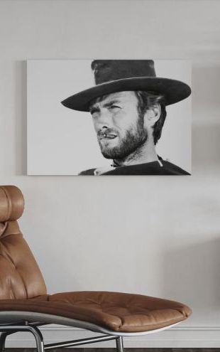 【Canvas Print】PHOTOWALL / Clint Eastwood in Good the Bad and the Ugly (e314910)