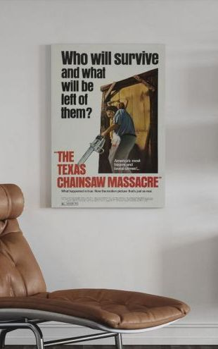 【Canvas Print】PHOTOWALL / Texas Chainsaw Massacre (e315013)