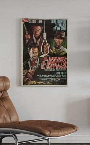 【Canvas Print】PHOTOWALL / Good the Bad and the Ugly (e315081)