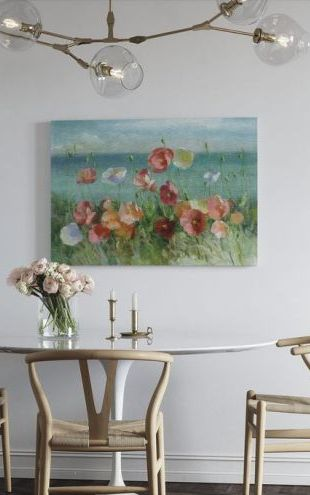 【Canvas Print】PHOTOWALL / Coastal Poppies (e315273)