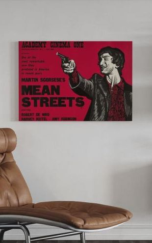 【Canvas Print】PHOTOWALL / Mean Streets (e313930)