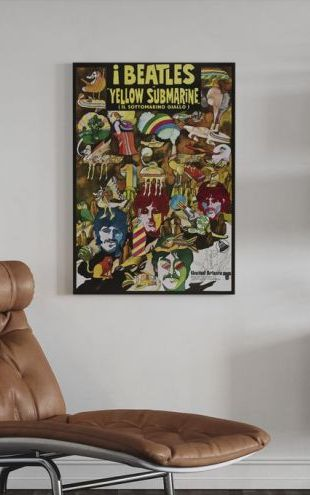 【Canvas Print】PHOTOWALL / Yellow Submarine: The Beatles (e313954)