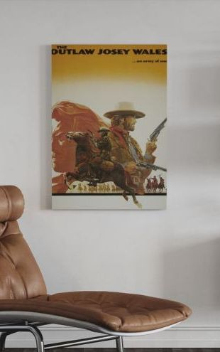 【Canvas Print】PHOTOWALL / Outlaw Josey Wales (e314048)