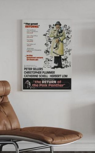 【Canvas Print】PHOTOWALL / Pink Panther (e314146)
