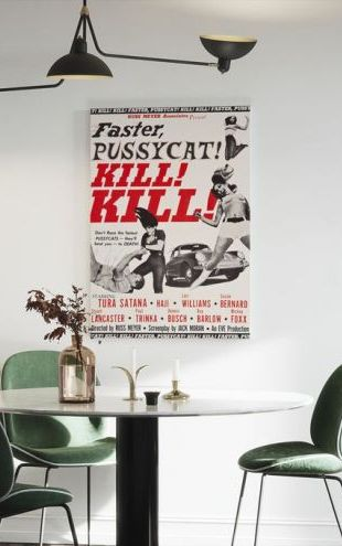 【Canvas Print】PHOTOWALL / Faster Pussycat Kill Kill (e314213)