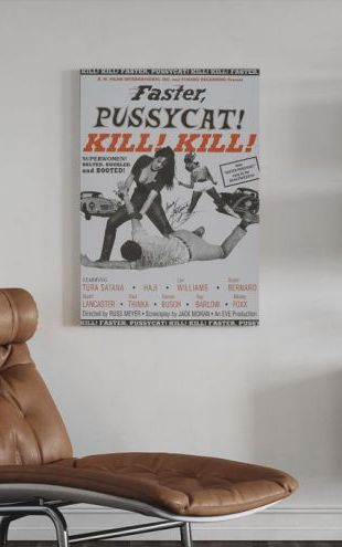 【Canvas Print】PHOTOWALL / Faster Pussycat Kill Kill II (e314214)