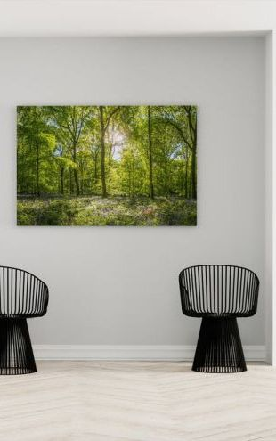 【Canvas Print】PHOTOWALL / Wildflowers Forest (e315805)