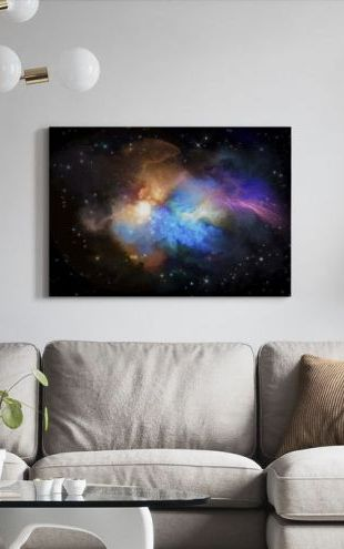 【Canvas Print】PHOTOWALL / Multicolored Nebula (e316147)