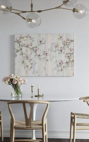 【Canvas Print】PHOTOWALL / Magnolia Plank Wall (e317895)
