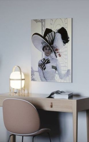 【Canvas Print】PHOTOWALL / My Fair Lady - Audrey Hepburn (e317073)