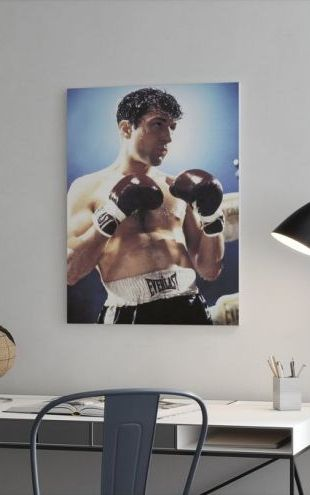 【Canvas Print】PHOTOWALL / Raging Bull - Robert De Niro (e317075)
