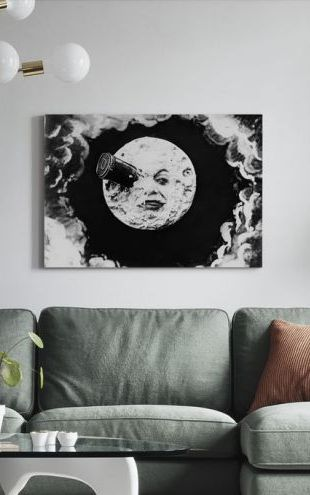 【Canvas Print】PHOTOWALL / Voyage to the Moon - Georges Melies (e317077)