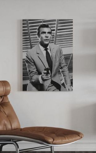 【Canvas Print】PHOTOWALL / James Bond - Sean Connery (e317094)