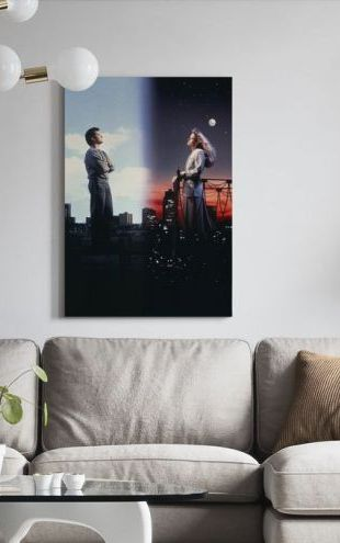 【Canvas Print】PHOTOWALL / Sleepless in Seattle - Tom Hanks and Meg Ryan (e317220)