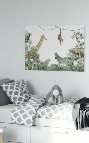【Canvas Print】PHOTOWALL / Jungle Friends (e318461)