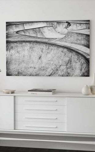 【Canvas Print】PHOTOWALL / Concrete Slider (e317614)
