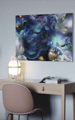 【Canvas Print】PHOTOWALL / Space Essay (e318667)