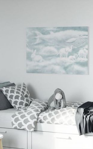 【Canvas Print】PHOTOWALL / Ocean Meets Sky Endpapers Front copy (e320036)