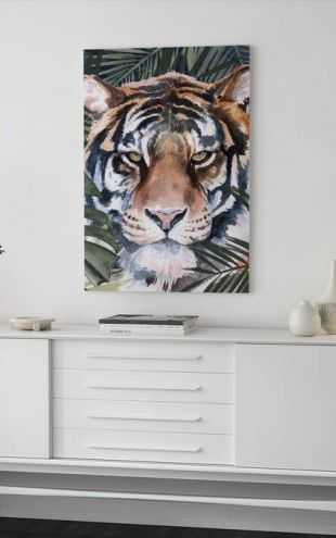 【Canvas Print】PHOTOWALL / Jungle Cat (e321334)